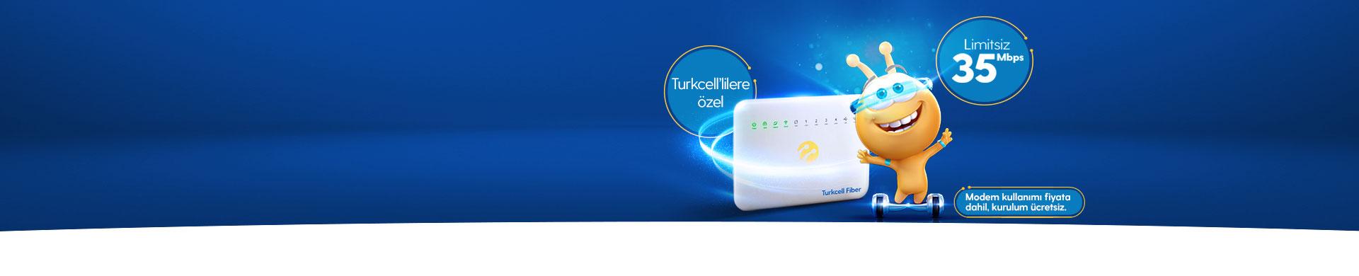 Turkcell Fiber İlk 3 Ay Ücretsiz