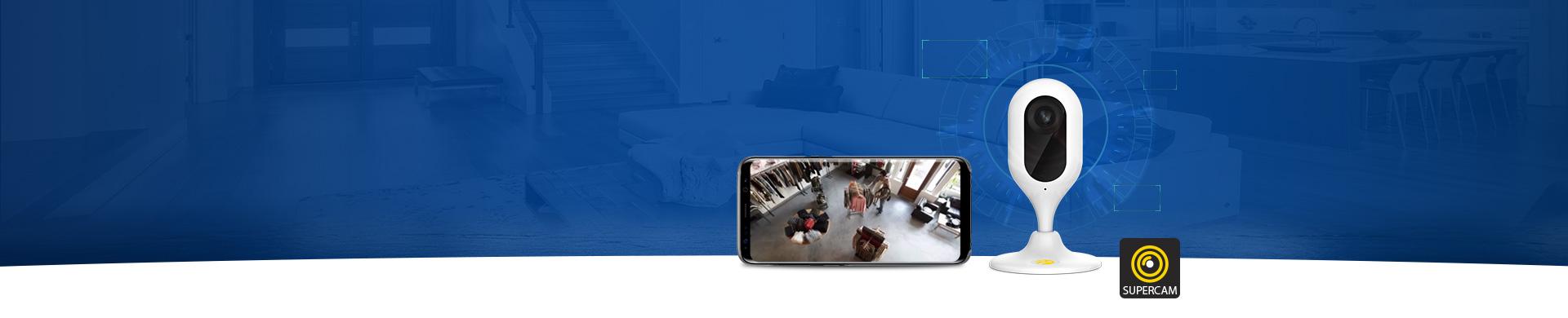 Supercam ile Gözün Arkada Kalmasın Aklınız evinizde kalmasın! Supercam ile mobil uygulamanızdan izleyin, geriye dönük kayıtlarınıza ulaşın. Üstelik kurulum ücretsiz!