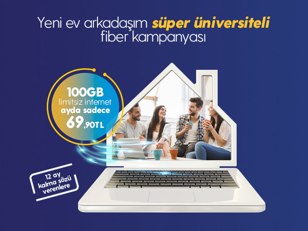 Süper Üniversiteli Fiber Kampanyası