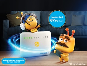 Turkcell Fiber Süper Paket Kampanyası