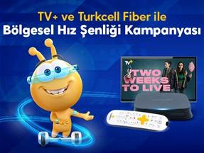 TV+ ve Turkcell Fiber İle Bölgesel Hız Şenliği Kampanyası