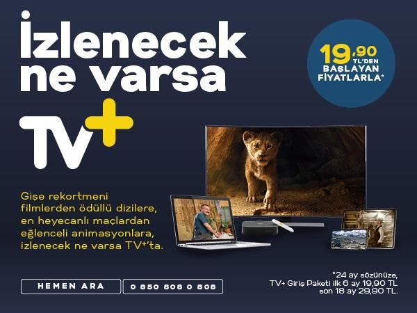 Yeni Yıla Özel Sadece TV+ Kampanyası
